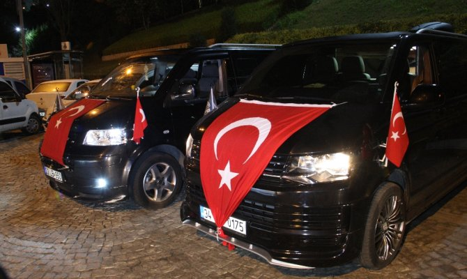 İstanbul'da Barış Pınarı Harekatı'na destek konvoyu