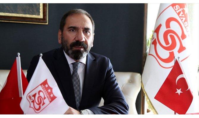 Sivasspor Kulübü Başkanı Otyakmaz: Avrupa hedefimizi hayata geçirmek istiyoruz