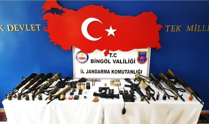 Bingöl'de 35 terörist etkisiz hale getirildi