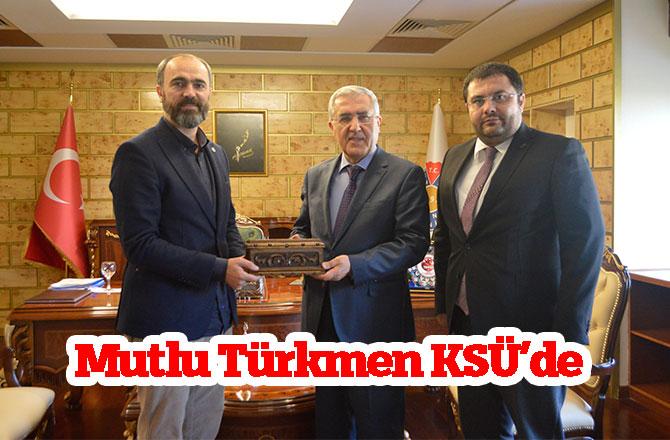 Mutlu Türkmen KSÜ'de