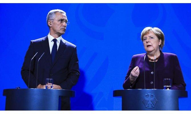 Merkel Barış Pınarı Harekatı'yla ilgili konuştu