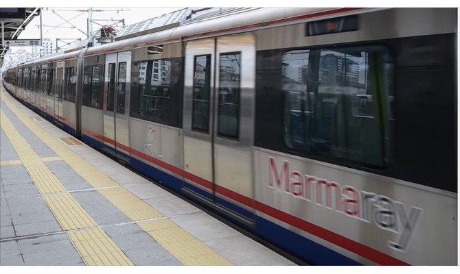 Ulaştırma ve Altyapı Bakanı Turhan: Marmaray'dan günde ortalama 365 bin yolcu faydalanıyor