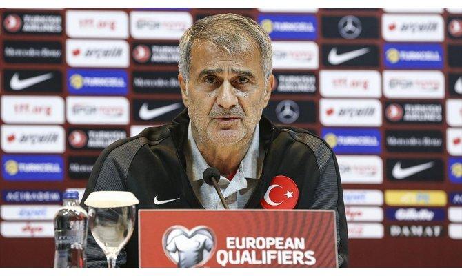A Milli Futbol Takımı Teknik Direktörü Güneş: EURO 2020'ye gitmeyi garantilemek istiyoruz