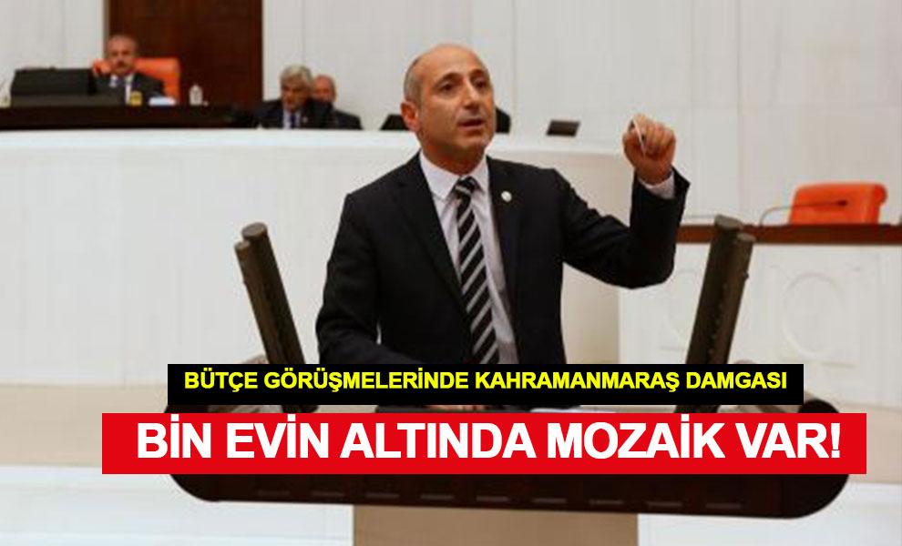 Milletvekili Ali Öztunç, Bin Evin Altında Mozaik Var!