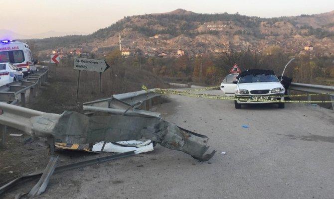 Karabük'te trafik kazası: 3 ölü, 2 yaralı