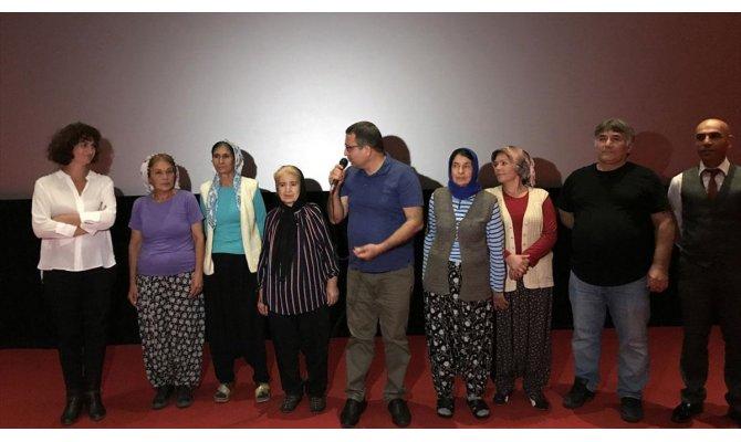 'Kraliçe Lear' belgesel filmi Mersin'de izleyiciyle buluştu
