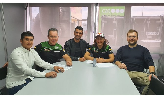 Motosikletçi Can Öncü Turkish Racing Team'e transfer oldu