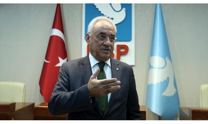 DSP Genel Başkanı Aksakal: DSP, sol kavramını Türkiye'de millileştiren tek partidir