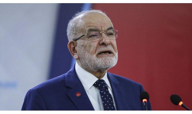 Saadet Partisi Genel Başkanı Karamollaoğlu: İsrail'in zulmüne ses çıkarılmıyor