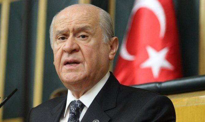 MHP Genel başkanı Bahçeli'den Arınç'a eleştiri