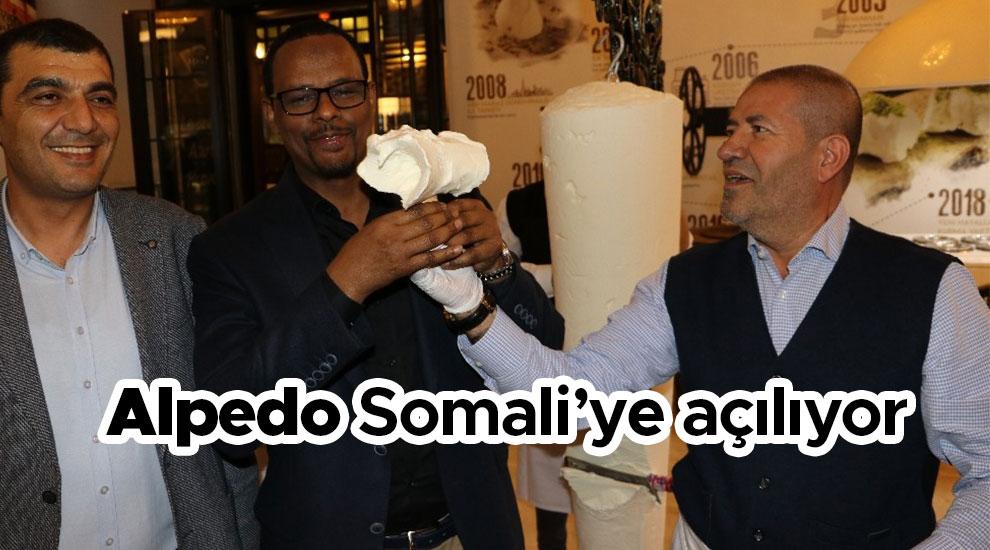 Alpedo Somali'ye açılıyor