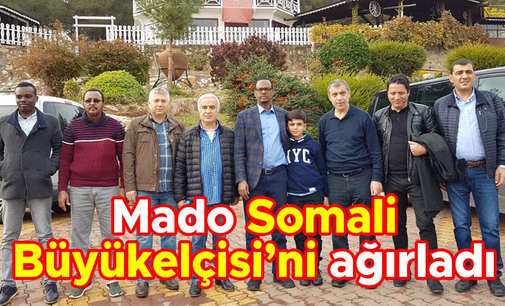Mado Somali Büyükelçisi'ni ağırladı