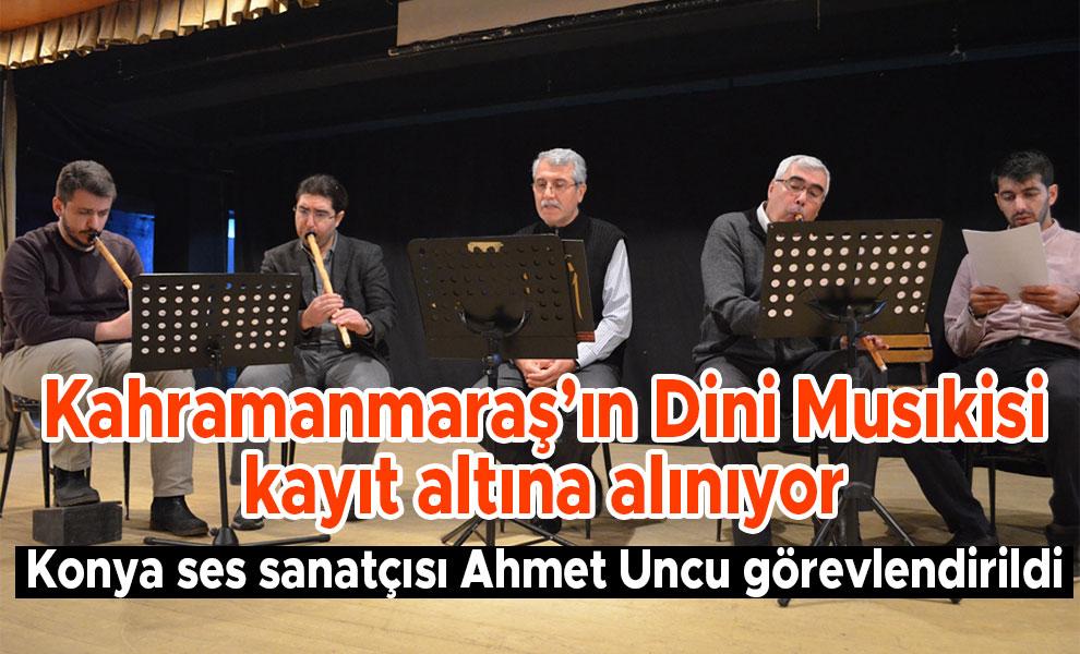 Kahramanmaraş'ın Dini Musıkisi kayıt altına alınıyor