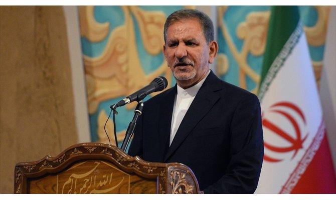 İran Cumhurbaşkanı Yardımcısı Cihangiri: ABD, Suudi Arabistan ve İsrail, İran'ı çökertmenin peşinde