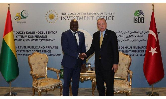 Cumhurbaşkanı Erdoğan, Gine-Bissau Başbakanı Gomes'i kabul etti