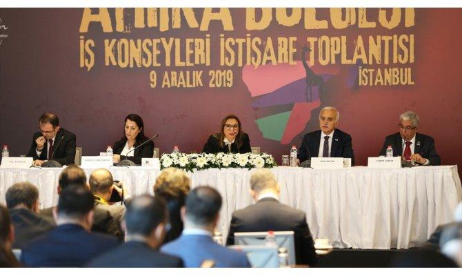 Ticaret Bakanı Pekcan: Afrika'da lojistik merkezleri kurma çalışmalarımız başladı