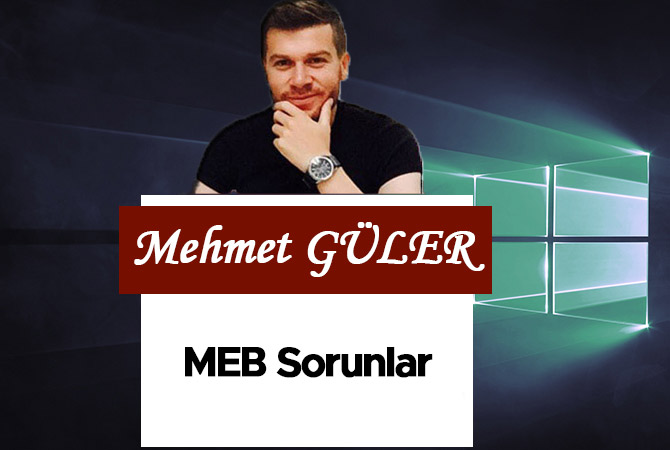 MEB Sorunlar