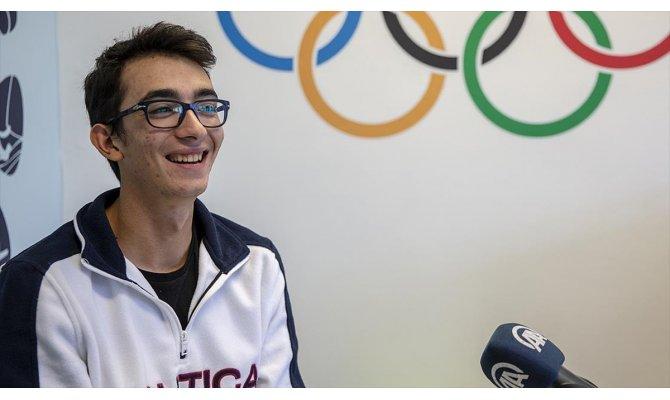 Milli okçu Mete Gazoz AA Spor Sohbetleri'nin konuğu oldu