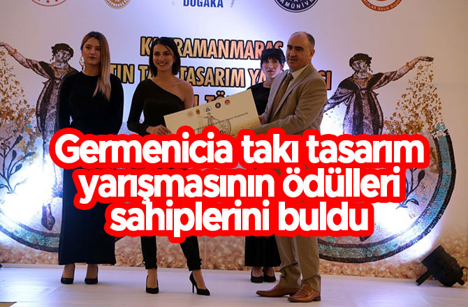 Germenicia takı tasarım yarışmasının ödülleri sahiplerini buldu