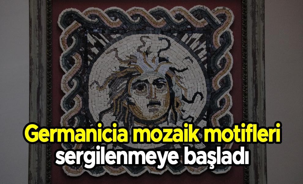 Germanicia mozaik motifleri sergilenmeye başladı