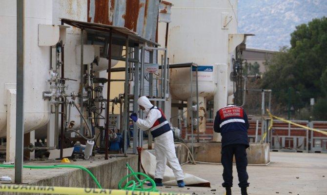 Antalya'da tahliye pompası patladı:1 ölü