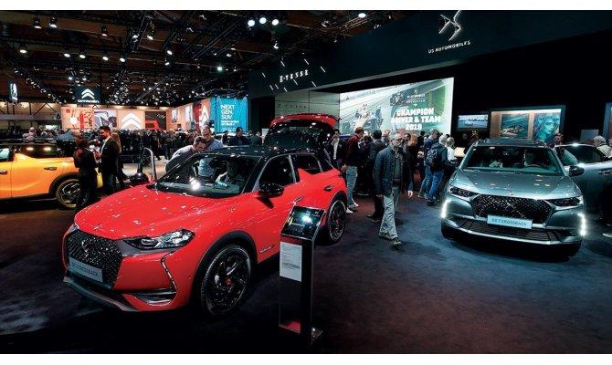 Brüksel Otomobil Fuarı'na yoğun ilgi