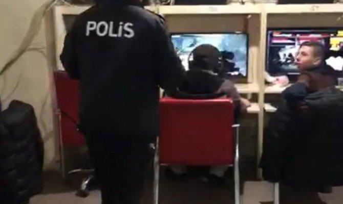 Kahramanmaraş'ta internet kafeler denetlendi