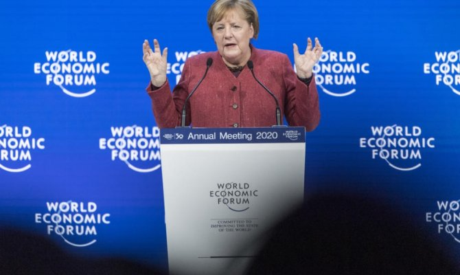 """Merkel: """"Libya'nın Suriye olmasına izin vermemeliyiz"""""""