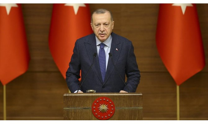 Cumhurbaşkanı Erdoğan Elazığ'a destek olan hayırseverlere teşekkür etti