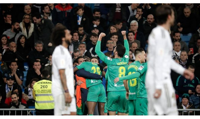 Real Madrid İspanya Kral Kupası'na çeyrek finalde veda etti