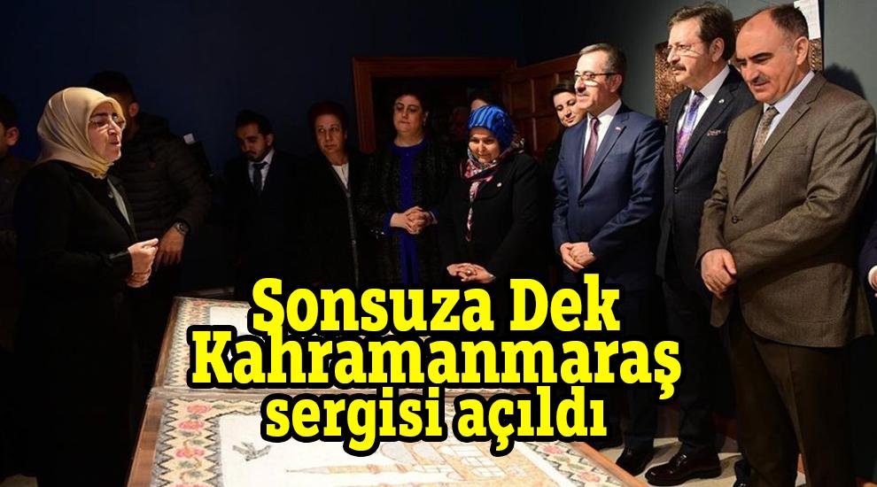 'Sonsuza Dek Kahramanmaraş' sergisi açıldı