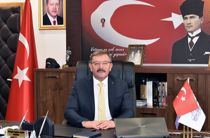 """Başkan Aydın:""""12 Şubat Kurtuluş Destanıdır"""""""