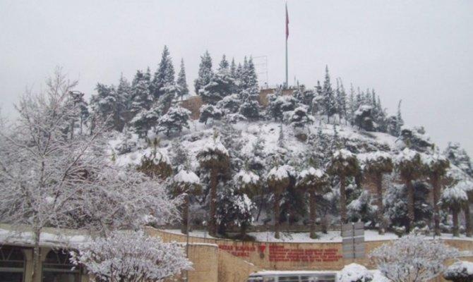 Kahramanmaraş'ın 9 ilçesinde eğitime kar tatili geldi