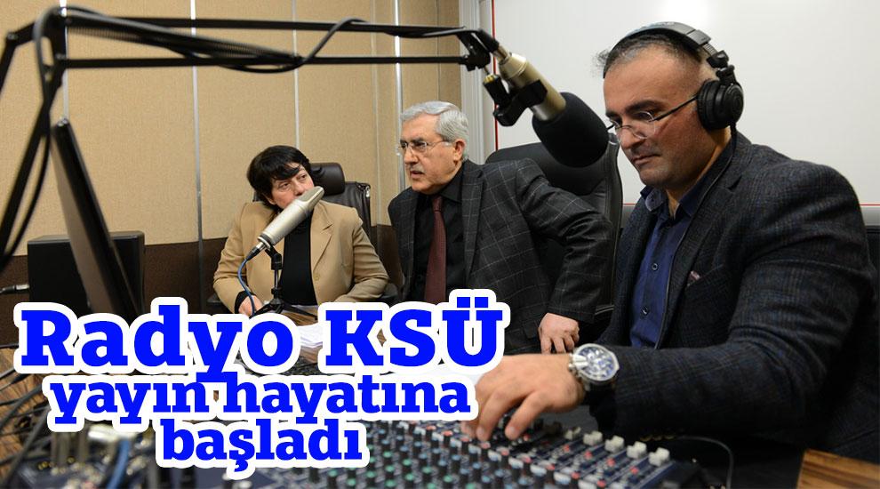 Radyo KSÜ yayın hayatına başladı