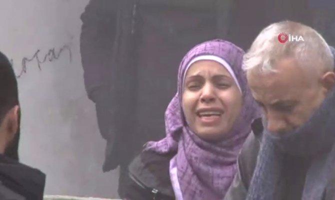 Avcılar'da bina yandı vatandaşlar ağladı