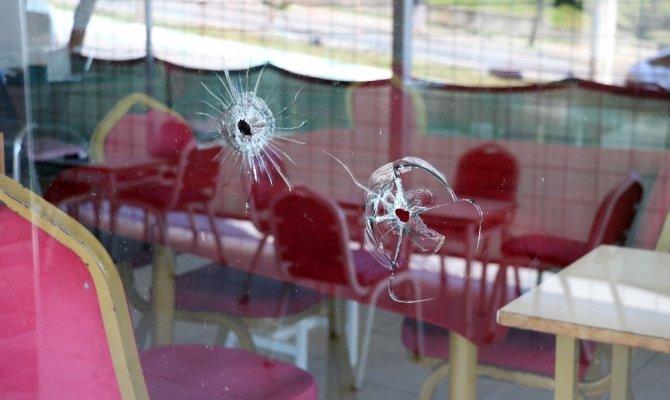Kahramanmaraş'ta Oyun salonuna kurşun yağdırdılar