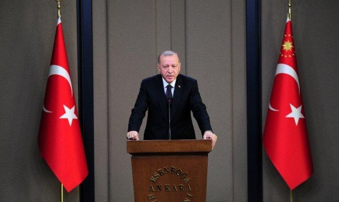 Cumhurbaşkanı Erdoğan başkanlığında güvenlik zirvesi gerşekleştirildi
