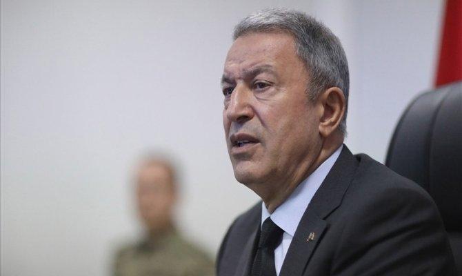 Bakan Akar: '309 rejim askeri etkisiz hale getirildi'