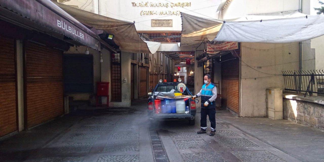 Η εργασία απολύμανσης συνεχίζεται στο Kahramanmaraş