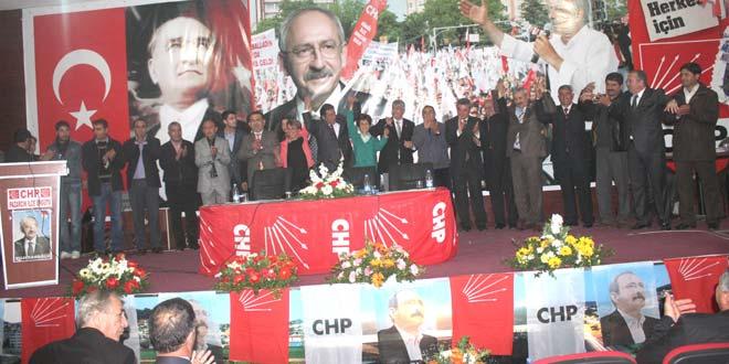 CHP İlçe Başkanı Ali Sakalıkaba oldu