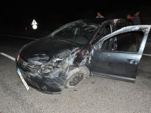 Somada Kaza: 1 Ölü, 1 Yaralı