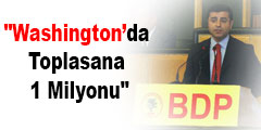 Washington'da Toplasana 1 Milyonu