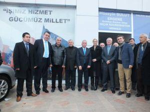 Ak Partinin Ergenede Seçim Bürosu Açıldı