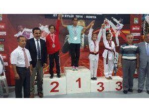 Minik Taekwondocular Türkiye Şampiyonasında Göz Doldurdu