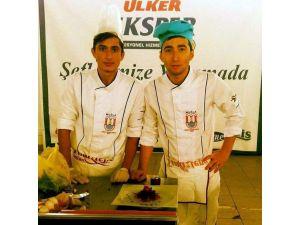 Meslek yüksek okulu aşçılık programı öğrencileri bursa da