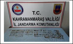 Kahramanmaraş'ta tarihi eser kaçakçılarına operasyon