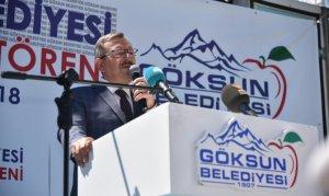 Göksun'da 5 Tesis Toplu Açılış Töreni İle Hizmete Girdi