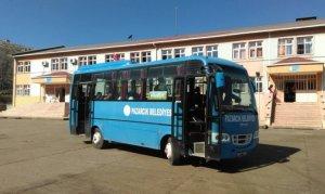 Pazarcık'ta öğrencilere Bu Yıl da Belediye Otobüsleri Ücretsiz