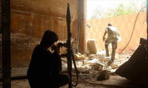 Suriyeli askeri muhaliflerden Esed rejimine misilleme