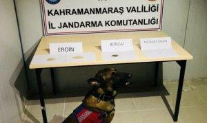 Kahramanmaraş'taHuzur Uygulaması sırasında uyuşturucu ele geçirildi